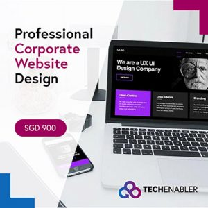 TechEnabler - Professional Corporate Website Design - SGD900