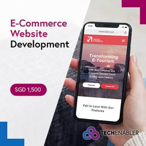 TechEnabler - E-Commerce Website Development - SGD1500