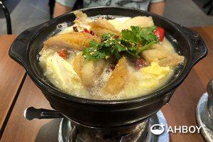 Chicken Hotpot - Fish in a pot